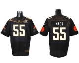 Nike Cleveland Browns #55 Alex Mack Black 2016 Pro Bowl Men\'s Stitched NFL Elite Jersey