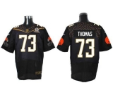 Nike Cleveland Browns #73 Joe Thomas Black 2016 Pro Bowl Men\'s Stitched NFL Elite Jersey