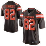 Nike Cleveland Browns #82 Gary Barnidge Brown Team Color Men\'s Stitched NFL New Elite Jersey