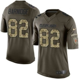 Nike Cleveland Browns #82 Gary Barnidge Green Men\'s Stitched NFL Limited Salute to Service Jersey