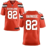 Nike Cleveland Browns #82 Gary Barnidge Orange Alternate Men\'s Stitched NFL New Elite Jersey