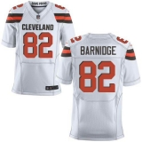 Nike Cleveland Browns #82 Gary Barnidge White Men\'s Stitched NFL New Elite Jersey