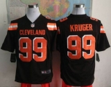Nike Cleveland Browns #99 Paul Kruger Brown Team Color Men\'s Stitched NFL Game Jersey