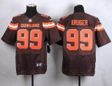 Nike Cleveland Browns #99 Paul Kruger Brown Team Color Men\'s Stitched NFL New Elite Jersey