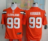 Nike Cleveland Browns #99 Paul Kruger Orange Alternate Men\'s Stitched NFL Game Jersey