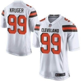 Nike Cleveland Browns #99 Paul Kruger White Men\'s Stitched NFL New Elite Jersey