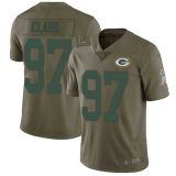 Nike Packers #97 Kenny Clark Olive Men\'s Stitched NFL Limited 2017 Salute To Service Jersey