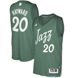 Utah Jazz #20 Gordon Hayward Green 2016-2017 Christmas Day Stitched NBA Jersey
