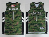 Toronto Raptors #1 Tracy Mcgrady Camo Pride Stitched NBA Jersey