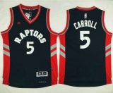Toronto Raptors #5 DeMarre Carroll Black Stitched NBA Jersey