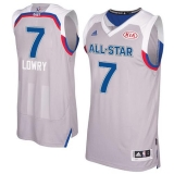 Toronto Raptors #7 Kyle Lowry Gray 2017 All Star Stitched NBA Jersey