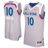 Toronto Raptors #10 DeMar DeRozan Gray 2017 All Star Stitched NBA Jersey