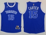 Toronto Raptors #15 Vince Carter Light Blue Throwback Stitched NBA Jersey
