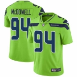 Nike Seahawks #94 Malik McDowell Green Men\'s Stitched NFL Limited Rush Jersey