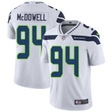 Nike Seahawks #94 Malik McDowell White Men\'s Stitched NFL Vapor Untouchable Limited Jersey