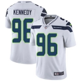 Nike Seahawks #96 Cortez Kennedy White Men\'s Stitched NFL Vapor Untouchable Limited Jersey