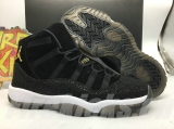 "(Better and right version)Super Max Perfect Air Jordan 11 GS  PRM Heiress ""Black Stingray"""