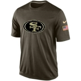 Men\'s San Francisco 49ers Salute To Service Nike Dri-FIT T-Shirt