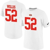 Nike San Francisco 49ers #52 Patrick Willis Pride Name & Number NFL T-Shirt White