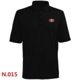 Nike San Francisco 49ers Players Performance Polo -Black