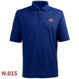 Nike San Francisco 49ers Players Performance Polo -Blue