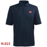 Nike San Francisco 49ers Players Performance Polo -Dark biue