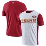 San Francisco 49ers Nike Champ Drive 20 Performance T-Shirt - White