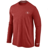 San Francisco 49ers Long Sleeve T-Shirt RED