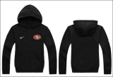 Nike San Francisco 49ers Authentic Logo Hoodie Black