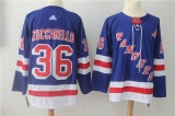 New York Rangers #36 Blue NHL Jersey