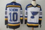 St Louis Blues #10 White NHL Jersey