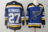 St Louis Blues #27 Blue NHL Jersey