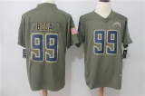San Diego Charger #99 Grey Jerseys