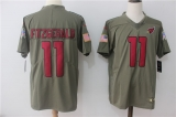 Arizona Cardinals #11 Grey NFL Jersey