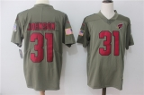 Arizona Cardinals #31 Grey NFL Jersey