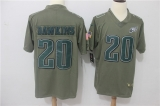 Philadelphia Eagles #20  Grey NFL Jersey