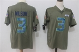 Seattle Seahawks #3 Grey NFL Jersey