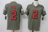 Atlanta Falcons #2 Grey NFL Jersey
