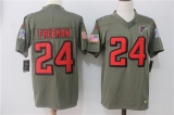 Atlanta Falcons #24 Grey NFL Jersey