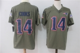 New England Patriots #14 Grey NFL Jersey