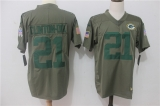 Green Bay Packers #21 Grey NFL Jersey (2)
