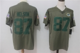 Green Bay Packers #87 Grey NFL Jersey (3)