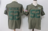Green Bay Packers #52 Grey NFL Jersey (4)