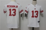New York Giants #13 White NFL Jersey