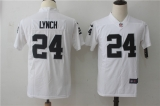 Oakland Raiders #24 White NFL Jersey (2)