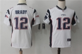 New England Patriots #12 White NFL Jersey (2)
