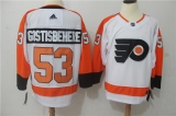 Philadelphia Flyers #53 white NHL Jersey (7)