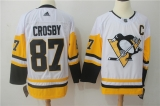 Pittsburgh Penguins #87 white NHL Jersey (2)