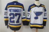St Louis Blues #27 white  NHL Jersey (2)