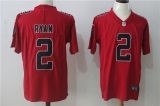 Atlanta Falcons #2 Red NFL Jersey (12)